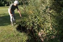 Eva Pudilová má naštěstí vody dostatek, protože vlastní studnu. Někteří obyvatelé, ale bohužel takové štěstí nemají.