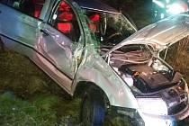 I na Štedrý večer těsně před 22 hod,museli vyjet hasiči z Boru a Tachova k nehodě osobního automobilu, ke které došlo v obci Vysočany.