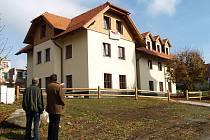 Nová budova CHKO Český les v Přimdě.