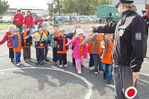 Projekt seznamuje předškoláky s nebezpečím