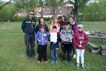 CHODOVOPLÁNSKÉ družstvo mladých hasičů skončilo v okresním kole soutěže Plamen v kategorii starších na třetím místě. První byli z Brodu nad Tichou a druzí hasiči z Tachova.