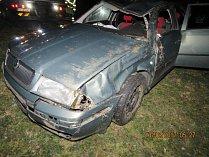 Dopravní nehoda u Regentu