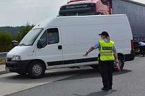 POLICIE SI předem vytipovala vozy, které kontrolovali, několik hříšníků se našlo.