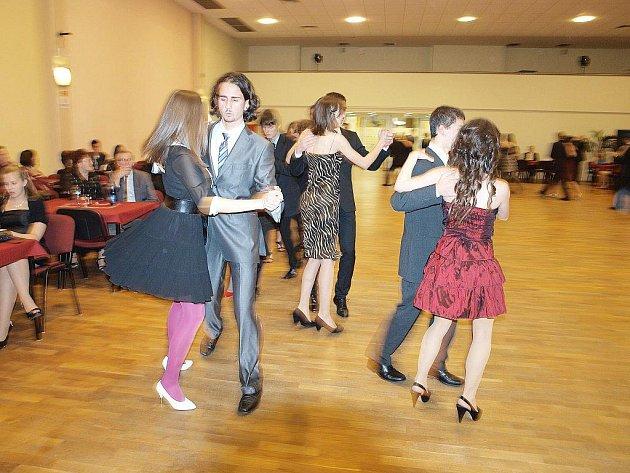 Tanečníky jsme zastihli při polce.