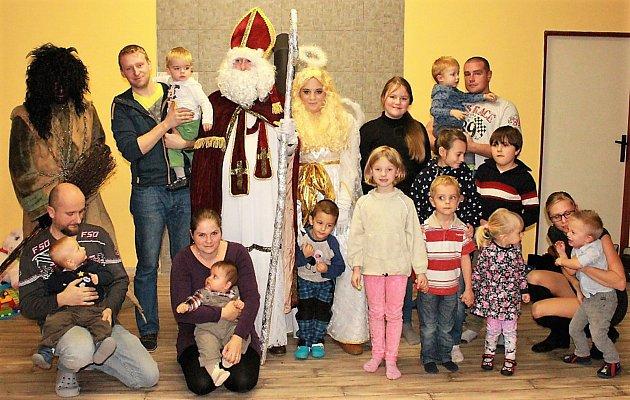 MikulášskÁ nadílkA pro děti se konala v Labuti. Akci organizačně zajistila Eliška Žaludová a nadílku pro děti zajistil OÚ ve Starém Sedlišti.