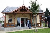 V Přimdě bylo otevřeno nové infocentrum s veřejnými záchody a dětským hřištěm