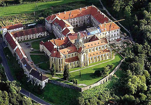 V kladrubském klášteře mohou vozíčkáři absolvovat část trasy díky bezbariérovým přístupům.