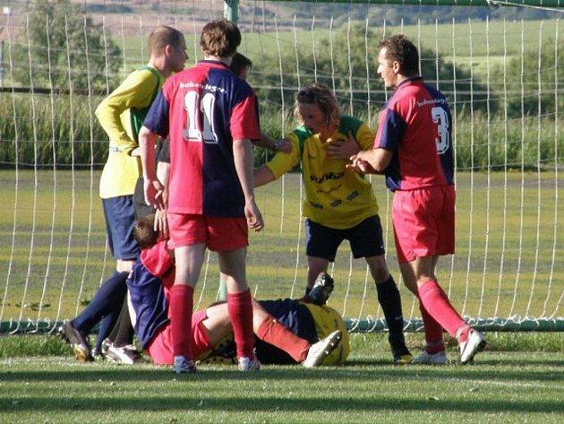 Stříbrští fotbalisté si v Chlumčanech výhrou 3:4 zajistili druhou postupovou příčku