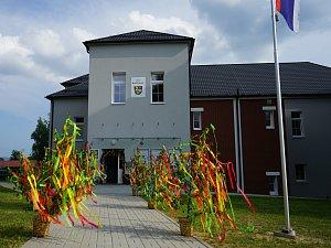 Nová budova obecního úřadu na Rozvadově