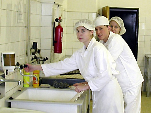 Studenti oboru kuchař budou mít k dispozici nejmodernější  středisko v podobě cvičné kuchyně.