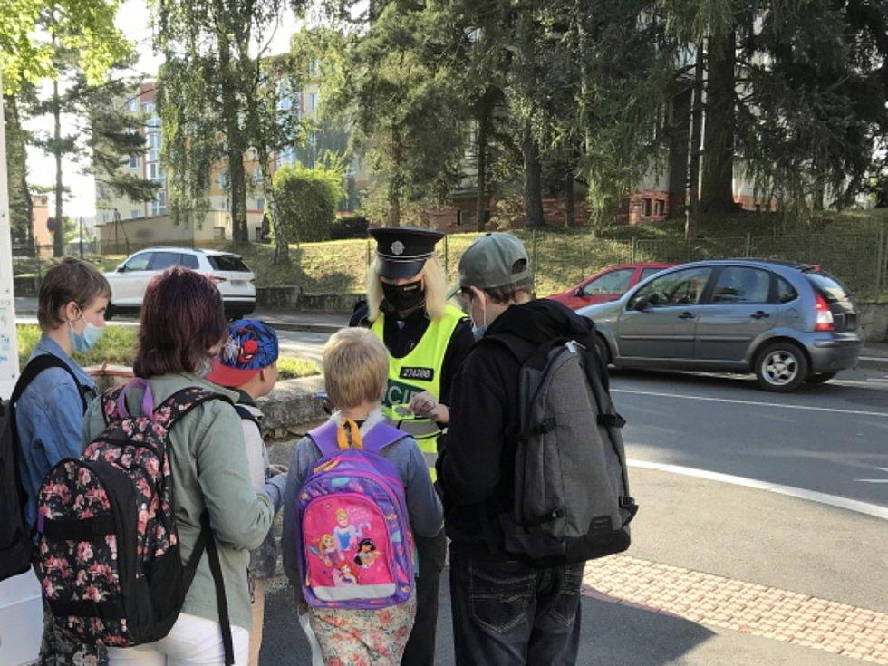 Z dopravně bezpečnostní akce na Rokycansku, Klatovsku, Plzeňsku a Tachovsku.