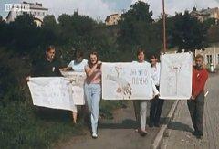 Z dokumenu BBC, který byl v roce 1968 natáčen částečně také na Tachovsku.