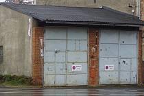 Tachov - Dvojice garáží pod náměstím bude v nejbližší době zbourána.