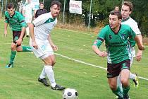 Fotbal-1.A třída: Spálené Poříčí vybojovalo v přimdském podhradí bod za remízu 3:3.