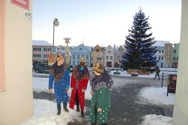 Koledníci v ulicích Tachova