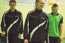 Stolní tenis: Ve třetí lize porazil S. Bor Eissmann družstvo S. Králův Dvůr 10:7.