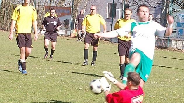 Fotbal-1.A třída: T. Přimda – SKP Okula Nýrsko 1:1