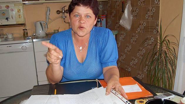 Květa Kolářová je odhodlaná stěžovat si na úřady u soudu.