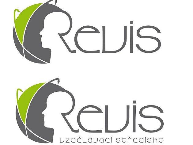 Vítězný návrh nového loga Revisu.