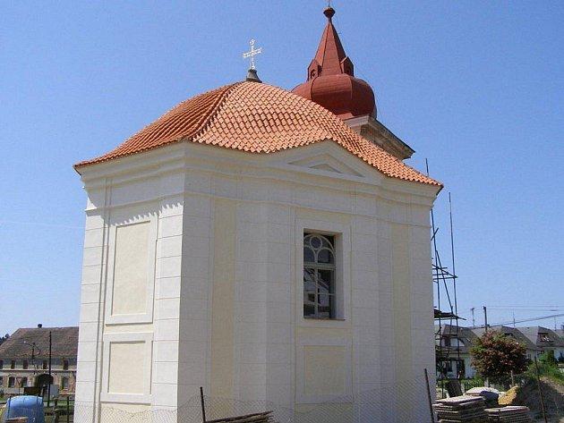 Santiniho kaple v Ostrově u Stříbra.