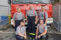 Jednotka hasičů SDH Stříbro vyrazila na pomoc na Moravu.