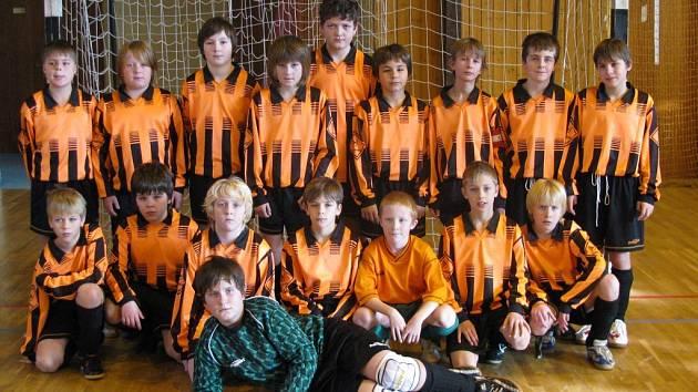 Mladí fotbalisté z Tachovska
