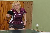 Hrálo se závěrečné dvojkolo druhé ligy žen ve stolním tenisu.