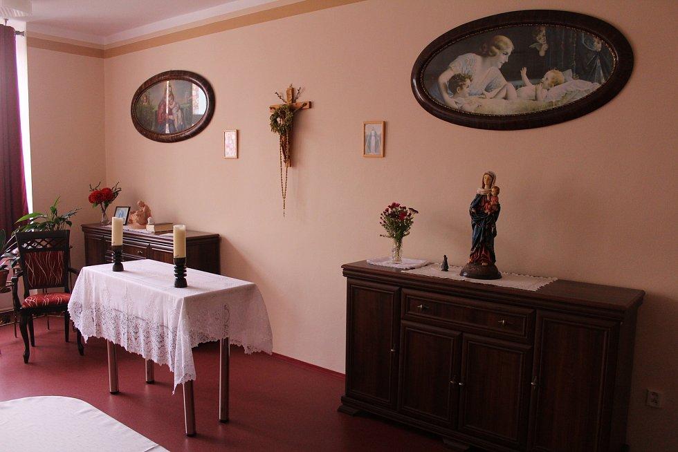 Den otevřených dveří v domově Panorama.