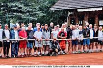Tenisový oddíl TJ Slavoj Tachov slaví letos padesátiny.