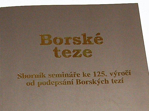 Sborník semináře Borské teze