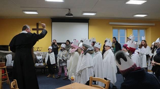 Tradiční tříkrálová sbírka se uskutečnila v Tachově.