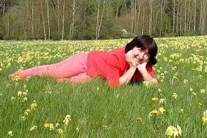 Na petrklíče na Vlčí hoře se každý rok těší i Hana Bernhardtová z Černošína.
