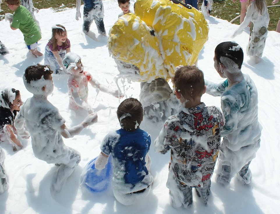 Děti oslavily svůj den v Chodové Plané