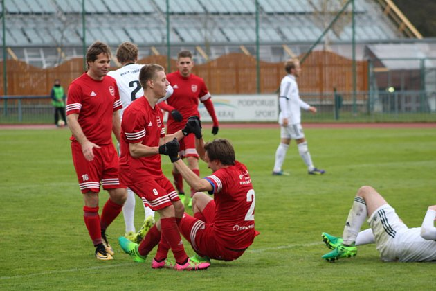 Snímky z utkání FK Tachov - Baník Stříbro.