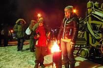 Horníci ve Stříbře oslavili desáté výročí založení spolku