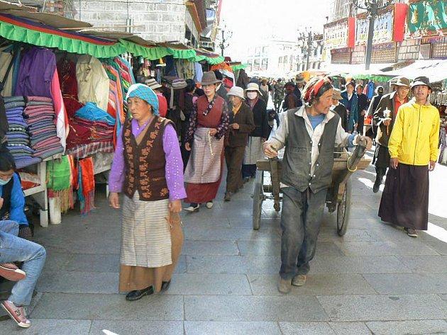 Tibet pohledem Pavla Popova