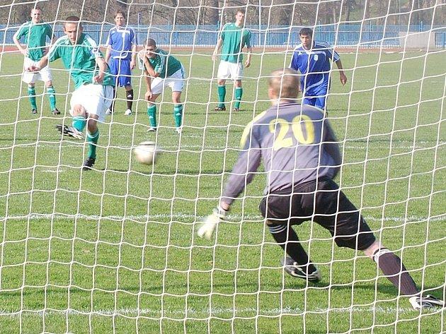Divizní utkání FK Tachov-Bohemians 1905 B skončilo spravedlivou remízou 1:1.