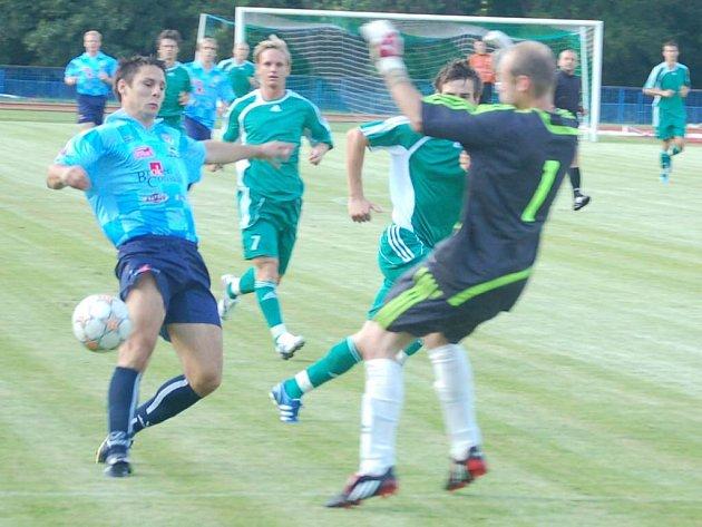 Přípravný fotbal: FK Tachov – Spartak Chrást 6:2 (1:1, Malý 2, Braun 2, Čížek, Machač)