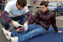 Soutěž hlídek mladých zdravotníků se konala v Tachově.
