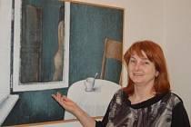 Plzeňský výtvarník Daniel Ladman vytavuje v tachovské Městské galerii svá díla.