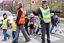 Podruhé v letošním školním roce se v Tachově konala policejní preventivní dopravně – bezpečnostní akce Zebra