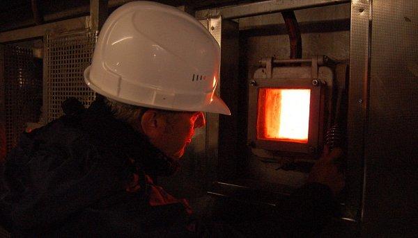 Zexkurze ve spalovně ve Schwandorfu.