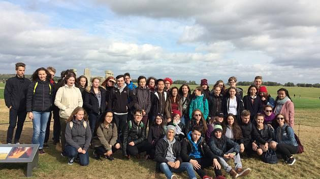 Výprava studentů Gymnázia Stříbro v Anglii.