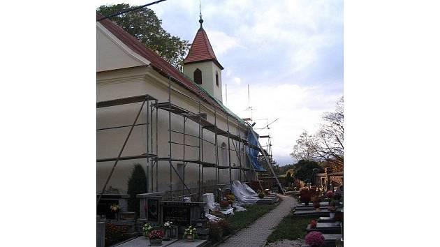 Sulislavský kostel se dočkal oprav