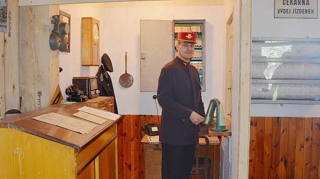 Nádražní muzeum v Bezdružicích vás vrátí do historie bezdružické lokálky.