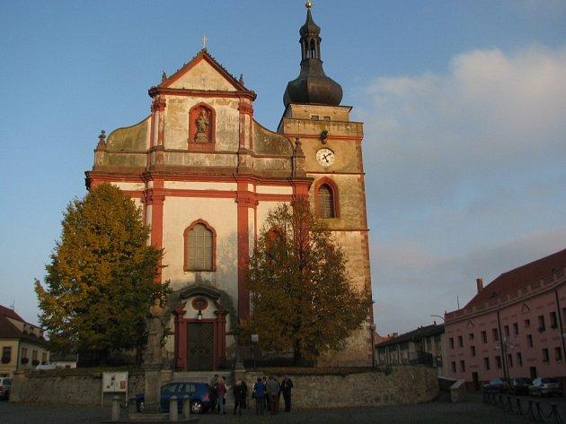 Kostel sv. Mikuláše v Boru