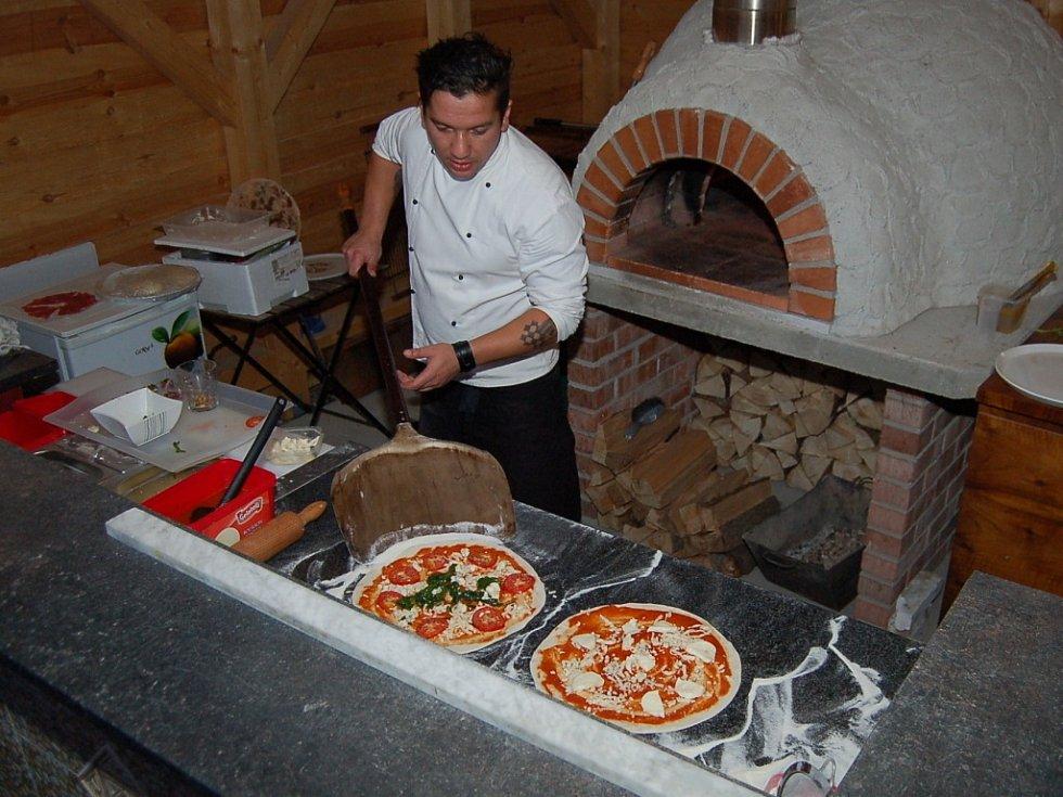Soutěž o nejlepší pizzu se konala v Dolních Polžicích.