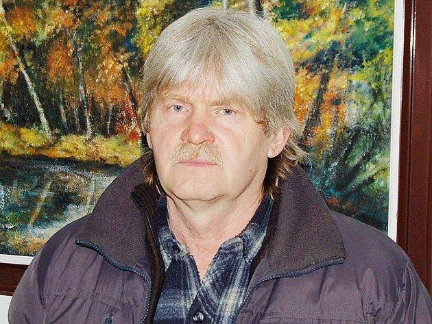 Tachovský výtvarník Jaroslav Juran.