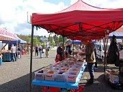 Farmářské trhy v Tachově zaznamenaly pokles trhovců