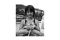 Úspěšná tachovská plavkyně Iva Gomoláková na archivním snímku ze závodů v Karlových Varech.